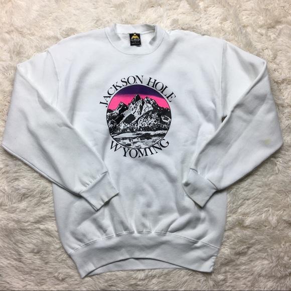 Jackson Hole Wyoming vintage pullover sweater